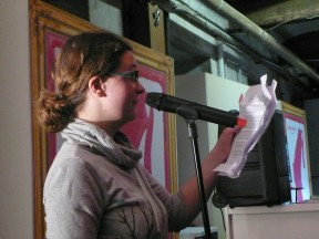 Lina Madita - textstrom Poetry Slam goes Vienna Coffee Festival