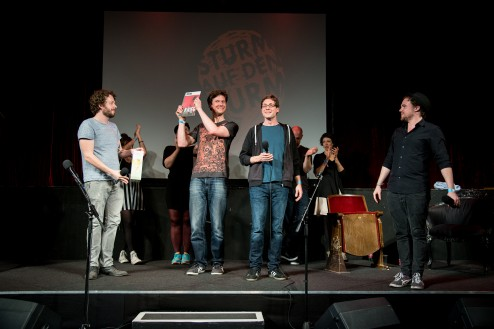 Wiens erster internationaler Team Poetry Slam
