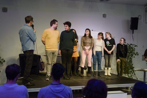 textstrom Poetry Slam - wien - Januar 2020 - Foto von Claudia Rohrauer